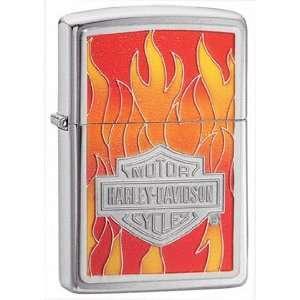 Harley Davidson Flame Emblem Zippo