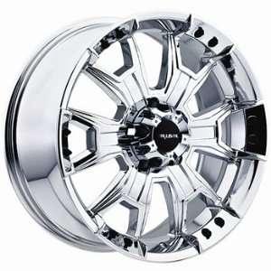 Ballistic Havoc 20x9 Chrome Wheel / Rim 8x180 with a 12mm Offset and a