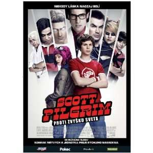 Scott Pilgrim vs the World Movie Poster (11 x 17 Inches
