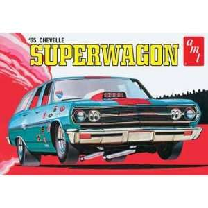 AMT 1/25 1965 Chevy Chevelle SuperWagon Car Model Kit