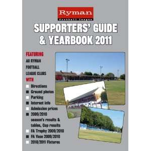 Ryman Football League Supporters Guide & Yearbook 2011