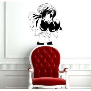 Anime Sexy Girl Boxer Manga Sport Cute Wall Vinyl Sticker