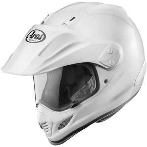Arai XD 3 Dual Sport Motorcycle Helmet Solid Gloss White