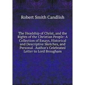 Celebrated Letter to Lord Brougham Robert Smith Candlish Books