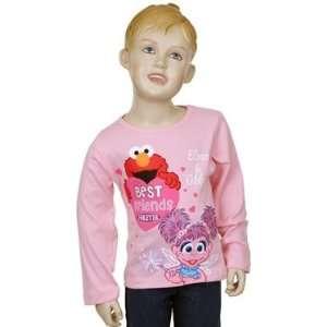 Sesame Street Elmo & Abby Toddler Shirt 2T Baby