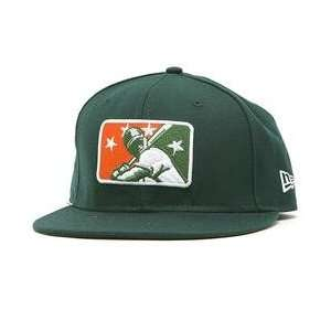 Greensboro Grasshoppers Minor League Logo 59FIFTY Fitted