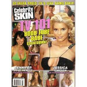 CELEBRITY SKIN MAGAZINE #137 JENNIFER LOVE HEWITT, JESSICA