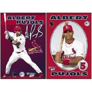 St. Louis Cardinals Albert Pujols Double Magnet Set