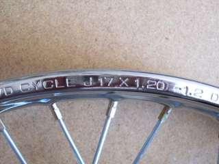 Honda complete FRONT wheel rim C50 C70 SS50 CL70 C110