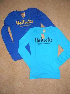 HOLLISTER Abercrombie & Fitch Zuma Beach WOMENS long sleeve t shirt