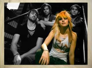AN1151 rock band Paramore Hayley Williams POSTER