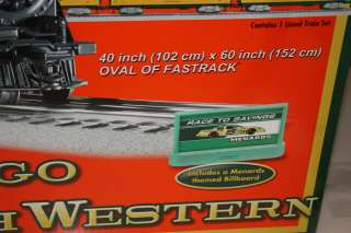 Lionel Menards Chicago & Northwestern Locomotive Train set O Scale NIB