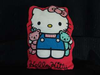 VINTAGE 1994 SANRIO PLUSH HELLO KITTY BED PILLOW THROW