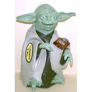 Star Wars Episode I Yoda Latex Hand Puppet   Rare: Toys & Games