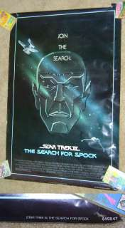 Star Trek III The Search for Spock Vintage Movie Poster