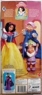 WALT DISNEY SNOW WHITE DOPEY & SNEEZY #0611 MINT 1992