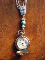 Rare Carolyn Pollack Southwest Relios Liquid Sterling Turquoise Watch
