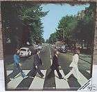 The Beatles Abbey Road Sign Metal 12 Album Cover