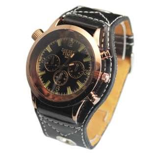 Fashion Appearance Boys Mens Who Loves Big Dial Quartz Wrist Watch