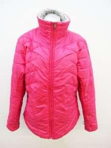 Columbia Womens Pink Kaleidaslope II Jacket Size XLarge