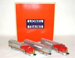 Lionel No. 6 11711 Santa Fe F 3 ABA War Bonnet Diesels NIB NO RESERVE