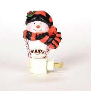 San Francisco Giants Snowman 5 Night Light