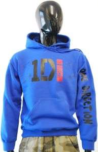 ONE DIRECTION SIGNED OFFICIAL LOGO HOODIES   9 COLOURS TO CHOOSE   VAS