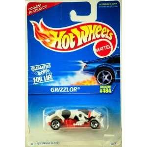 1995   Mattel   Hot Wheels   Grizzlor   Black, White & Red
