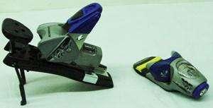 Rossignol FTX 105 Snow Ski Bindings Blue / Silver NEW