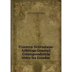 Exteriores Venezuela Ministerio de Relaciones Exteriores  Books