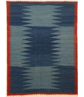 Handmade Flat Weave Kilim Qashqai Persian Rug 5 X 7