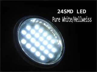 MR11 24 SMD LED Cool White Light Lamp Bulb AC 12V GU4 Spotlight 6000K
