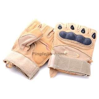 TAN Sports Wear Boxing Racing Bicycle Fingerless Gloves OT10 YE H
