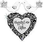 LOVE ALWYS Forever Damask BRIDAL Shower WEDDING Balloon