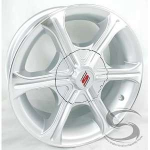 Machined Aluminum T05 Trailer Wheel 5x4.50 Bolt Pattern Automotive