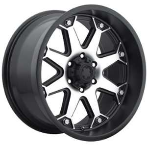 18x9 Machined Black Wheel Ultra Bolt 5x5.5: Automotive