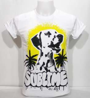 Sublime Lou Dog T Shirt Dub Reggae Ska Punk Funk Rock