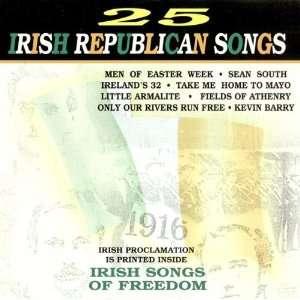 25 Irish Republican Songs: Various Irish Singers: Music