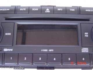Chrysler 300 Dodge Durango Magnum Jeep Radio  6 Disc CD Changer