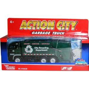 Real Toys Action City Recycling Truck: Toys & Games