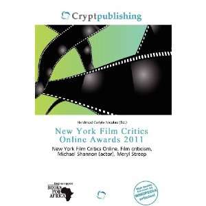 New York Film Critics Online Awards 2011 (9786200768803