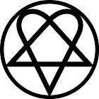 heartagram decal