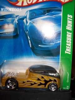 hot wheels 2008 TREASURE HUNT #166 QOMBEE #3 AM