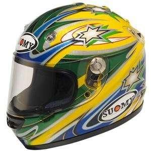 Suomy Vandal Bayliss Replica Helmet   Small/Bayliss Automotive