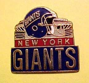 New York Giants Stadium Football FB Logo NFL Pin