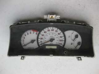 2004 2005 2006 2007 Toyota Corolla Instrument Cluster *White* Gauges