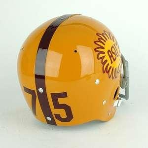 Arizona State Sun Devils Football Helmet History 11 Mod