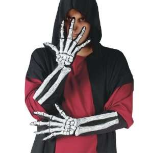 Skeleton Glove And Wrist Bone Gloves: Home & Kitchen