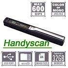 Handyscan Mini Portable Hand Held Magic Scanner 600 2GB