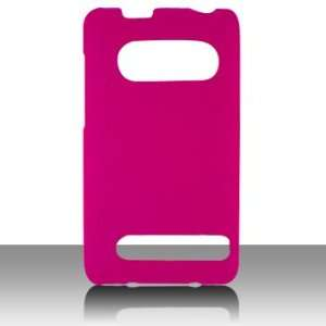 Hot Pink Hard Rubber Crystal Back Only Cover Case For